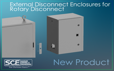 External Disconnect Enclosure for Rotary Disconnect