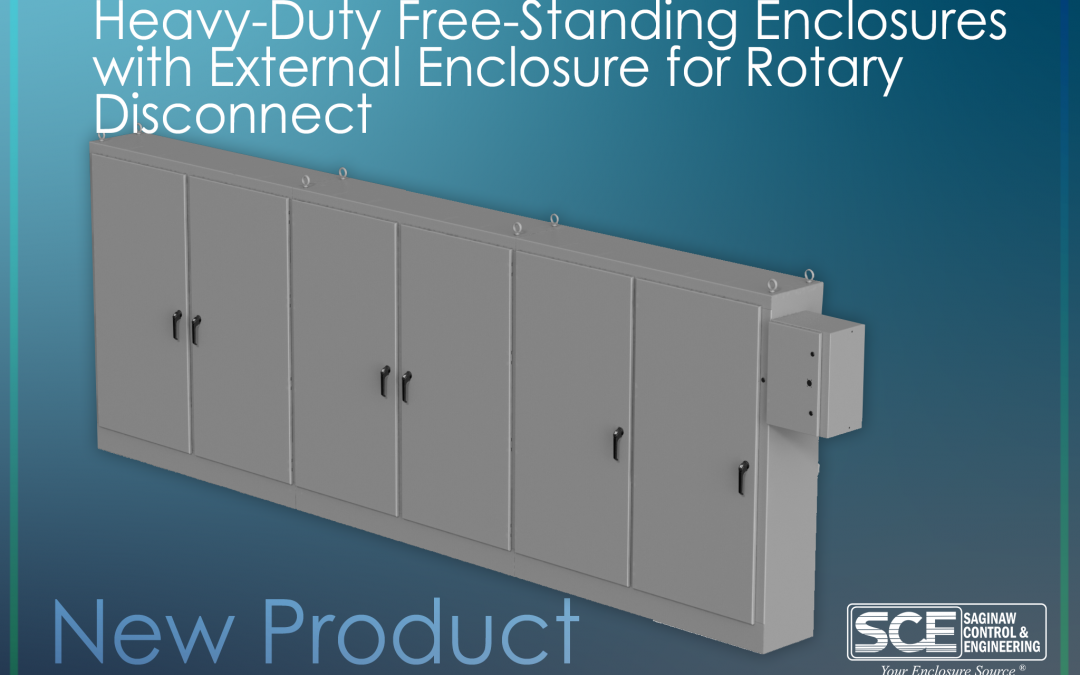 Heavy Duty Free-Standing Enclosures w/ External Enclosure for Rotary Disconnect