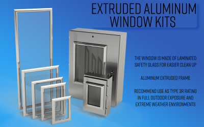 Extruded Aluminum Window Kits