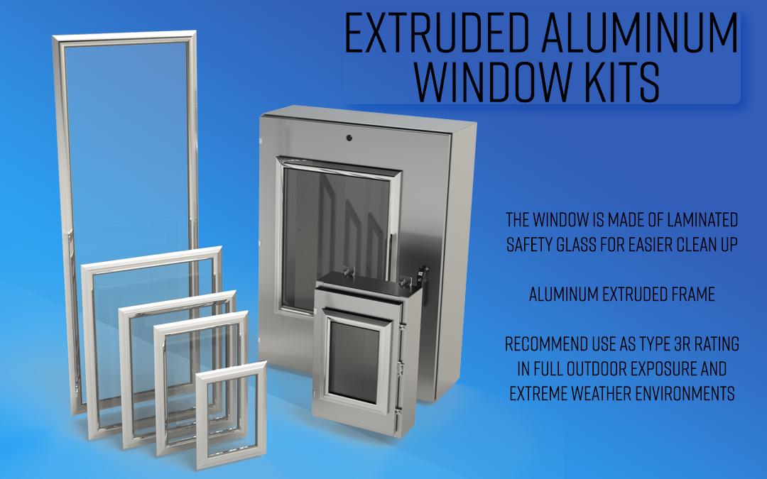 Extruded Aluminum Window Kits