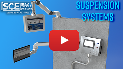 Play button for suspension system video