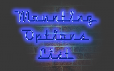 Mounting Options List