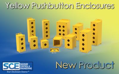 Yellow Pushbutton Enclosures