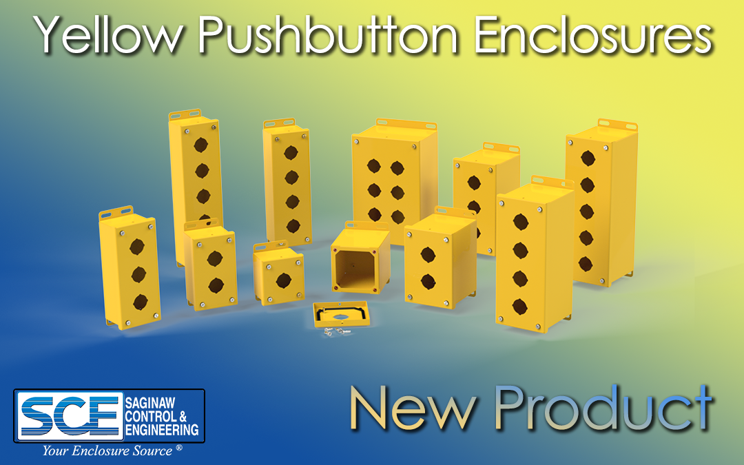 Yellow Pushbutton Enclosures